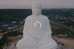Tượng Phật Thích Ca cao 73 m ở Bình Phước