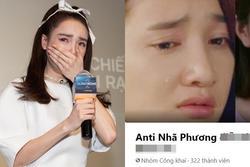 Nhã Phương bị lập group antifan, netizen ngao ngán: 'Ai rồi cũng bị anti'