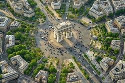Nơi 12 đại lộ giao nhau ở Paris