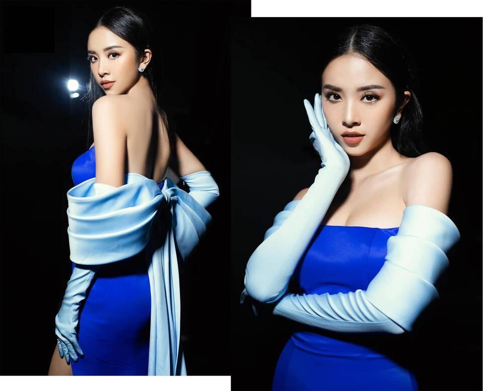 Không phải xuyên thấu hở bạo, váy đính nơ thống trị 2020, Khánh Vân diện như cơm bữa-10