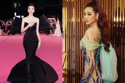 Không phải xuyên thấu hở bạo, váy đính nơ thống trị 2020, Khánh Vân diện như cơm bữa