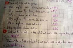 Cô giáo ra đề đánh đố, câu trả lời của nhóc tiểu học khiến dân mạng cười lăn lộn