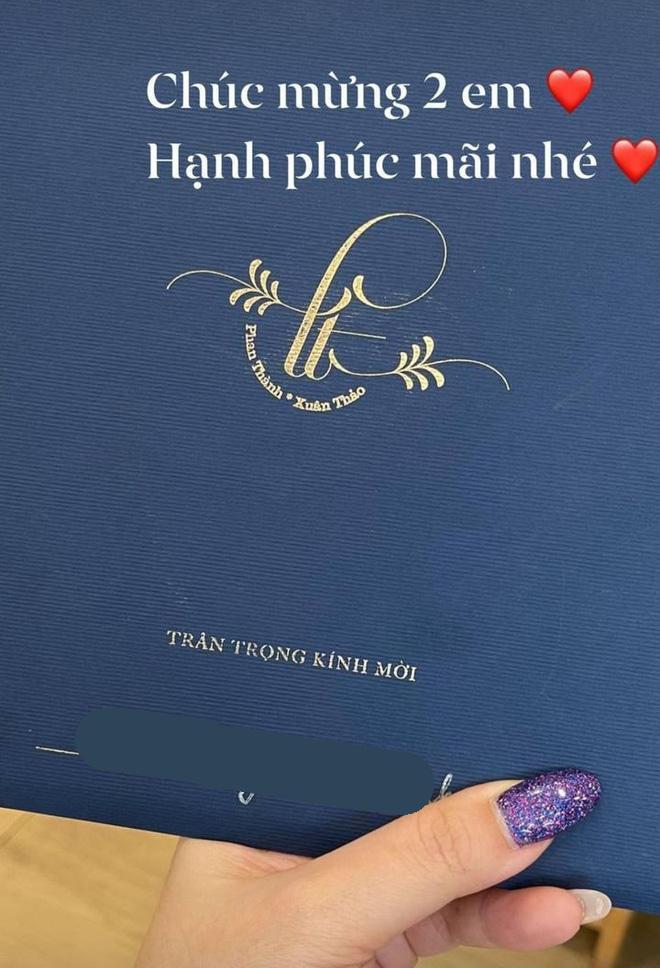 Thiếu gia Phan Thành khoe thiệp mời, còn hé lộ hình cưới đẹp long lanh-7