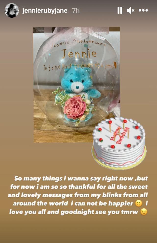 BlackPink thể hiện tình yêu siêu to khổng lồ tới Jennie trong ngày sinh nhật-6
