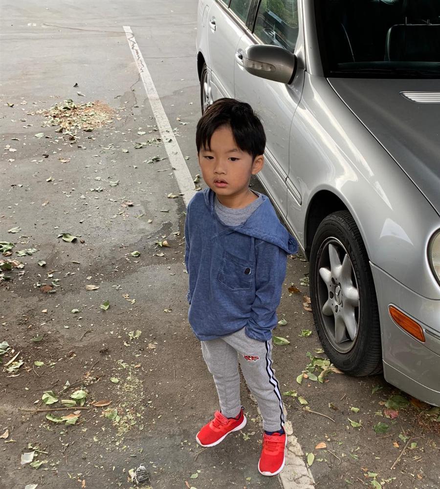 Ngoại hình con trai 5 tuổi của Ngọc Quyên và chồng cũ Việt kiều-4