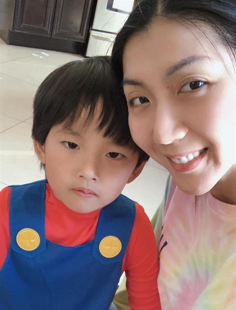 Ngoại hình con trai 5 tuổi của Ngọc Quyên và chồng cũ Việt kiều-7