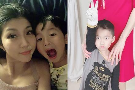 Ngoại hình con trai 5 tuổi của Ngọc Quyên và chồng cũ Việt kiều