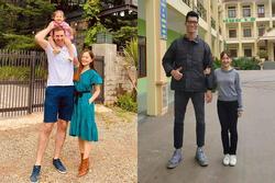 Lan Phương ngỡ ngàng khi có người Việt cao hơn cả chồng Tây 2m