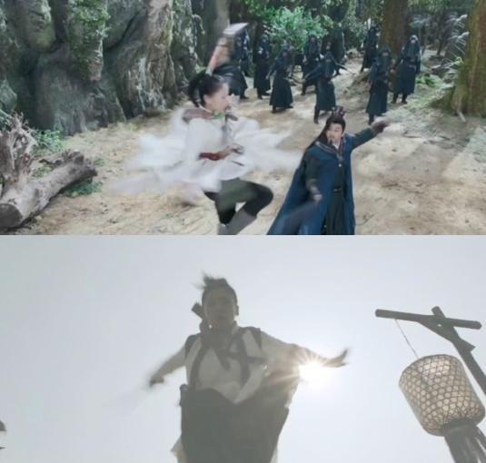 Sạn cẩu thả trong phim Trung Quốc-2