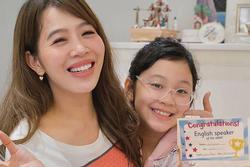 MC Diệp Chi gây choáng khi để lộ con gái học trường có học phí đắt đỏ bậc nhất Hà Nội