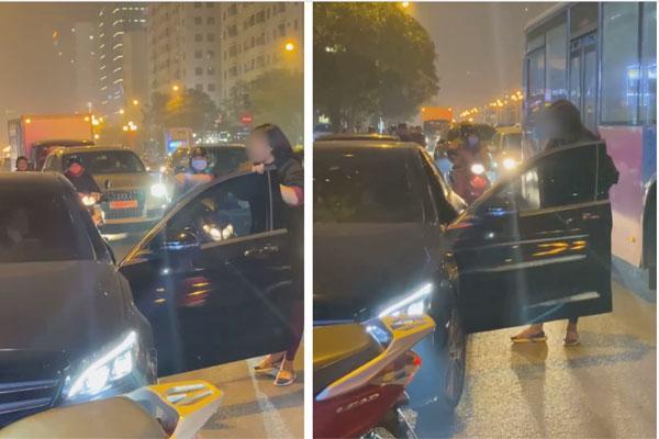 Chặn xe Mẹc đánh ghen ở Hà Nội: Nó cấm chồng tôi không được ngủ với vợ-1