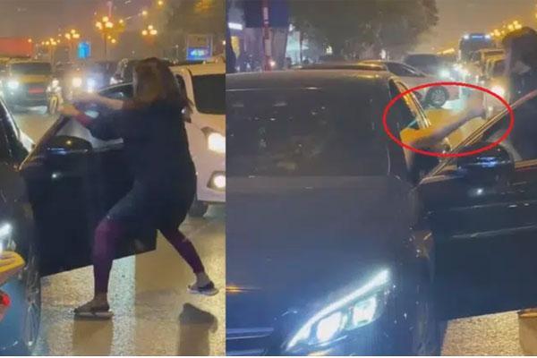Chặn xe Mẹc đánh ghen ở Hà Nội: Nó cấm chồng tôi không được ngủ với vợ-3