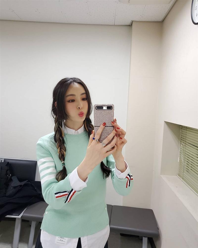 Style sao Hàn tuần qua: Lee Da Hee hack tuổi với tóc Hime chuẩn gái Nhật-2