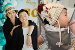 Đàm Thu Trang đã chịu khoe ảnh rõ mặt con gái