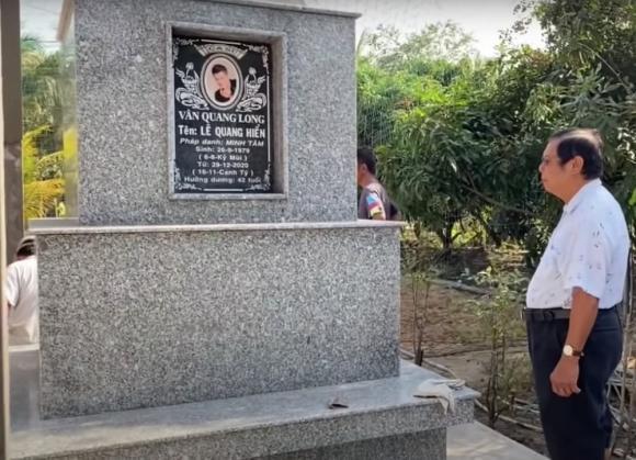 Phần mộ của cố ca sĩ Vân Quang Long được xây dựng hoàn thiện, chờ ngày nhận tro cốt-4