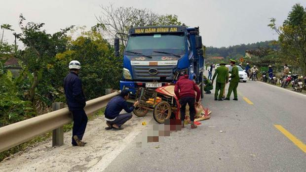 Tai nạn giao thông, 2 bố con tử vong-1