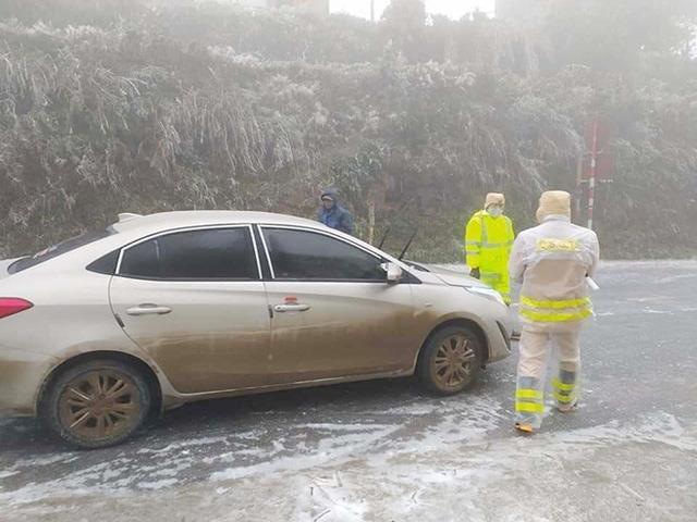 Dự báo băng tuyết xuất hiện nhiều nơi, Cục CSGT ra khuyến cáo khẩn-2