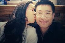 Hoa hậu Dương Thùy Linh kể chồng từng khổ sở chữa bệnh khắp nơi