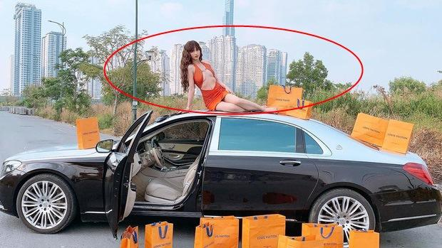 Ngọc Trinh bị chê mặc váy hở bạo kém sang hơn mẫu Tây lại còn photoshop méo nhà-4