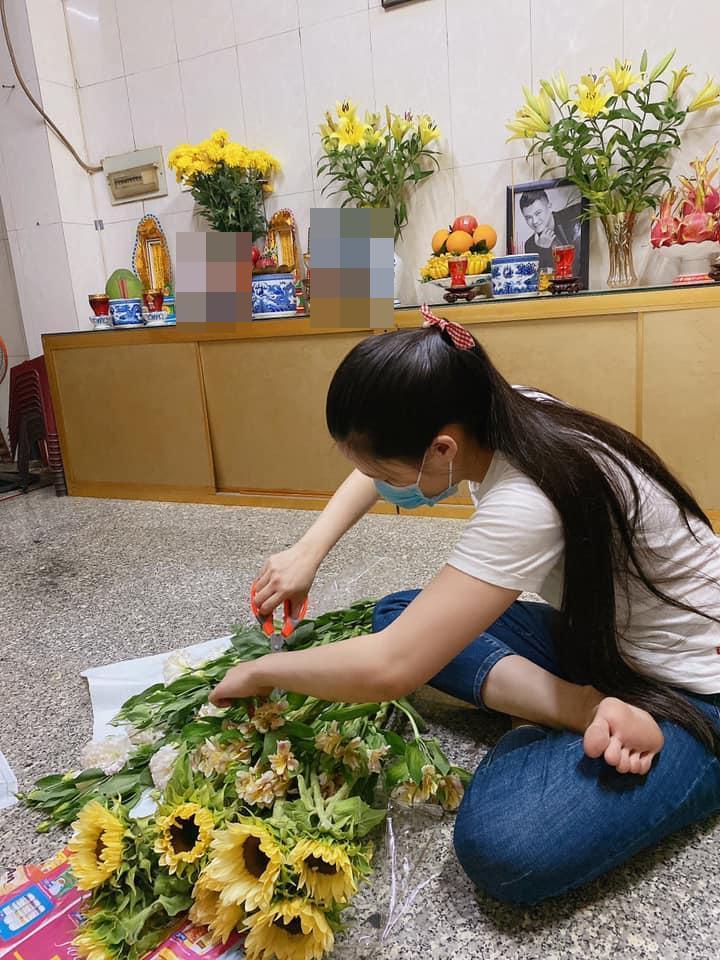 Vợ Vân Quang Long xuất hiện sau scandal với hội bạn của chồng-3