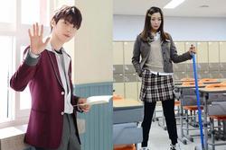 Sao Hàn 'cưa sừng làm nghé' với đồng phục học sinh dù hơn vai diễn cả giáp