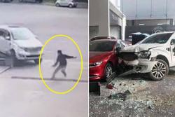 Khởi tố nữ tài xế đạp nhầm chân ga đâm người đàn ông rồi lao vào showroom ở Việt Trì