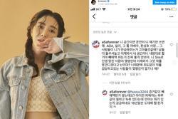 Kwon Mina phản pháo cực gắt khi bị fan Jimin liên tục quấy nhiễu