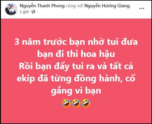 SHOCK: Thành viên ê-kíp tố Hương Giang vô ơn, cướp mối quan hệ-1