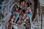 Vợ chồng Minh Nhựa gây tranh cãi để con diễn 'cảnh nóng' giống bố mẹ