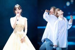 5 bài hát bám dai nhất trên Gaon Digital Chart: 'Thánh ca mùa xuân' vượt mặt IU