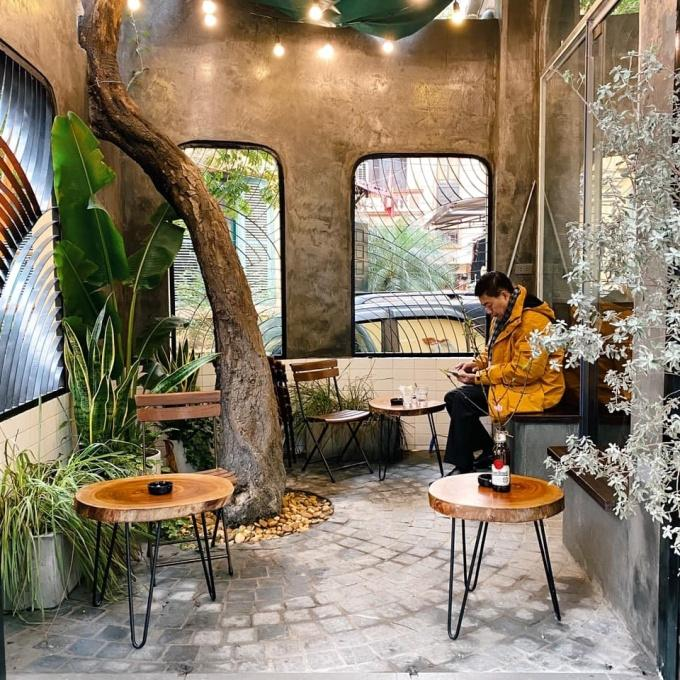 Đi đu đưa ngay những quán cafe tone xám ở Hà Nội có ảnh đẹp như studio-10