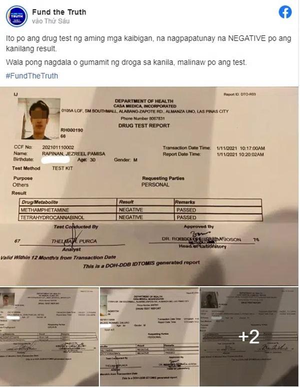 Công bố xét nghiệm ma túy của 5 nghi phạm liên quan đến cái chết của Á hậu Philippines-1