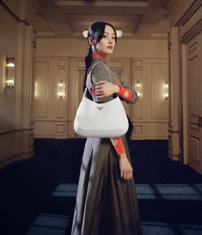 Trịnh Sảng mặc đồ Prada: Khi bị chê phèn, lúc xinh chuẩn nữ thần-1
