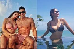 Hoa hậu Hoàn vũ Pia gây 'ngộp thở' với loạt ảnh ngực to ngang đầu