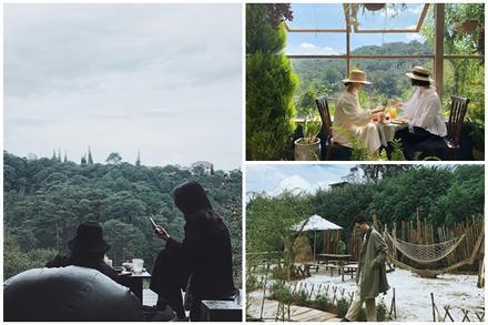 3 quán cafe ở Đà Lạt như đưa du khách lạc vào 'khu vườn bí mật'
