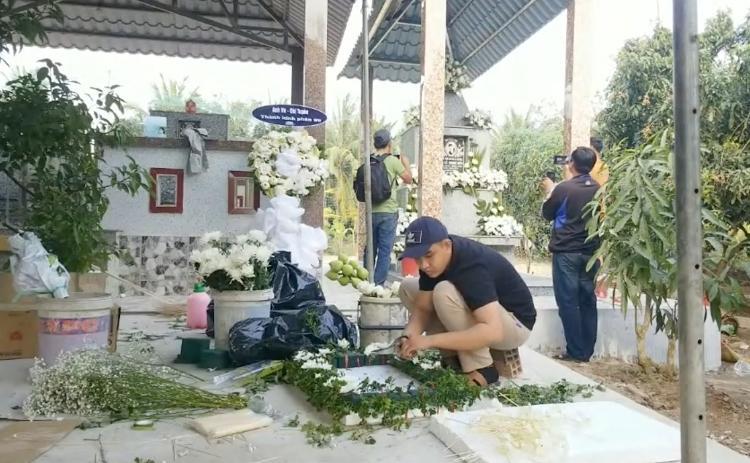 Tro cốt Vân Quang Long đã an vị tại quê nhà Đồng Tháp-2