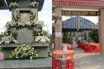 Vợ cũ, vợ mới thất thần trong lễ an táng Vân Quang Long-9