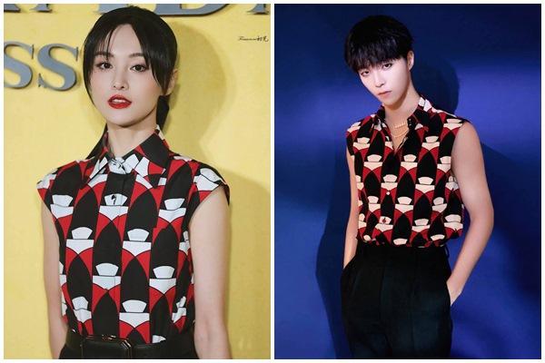 Trịnh Sảng không có cửa khi đụng hàng Yoona, Lisa BLACKPINK-6