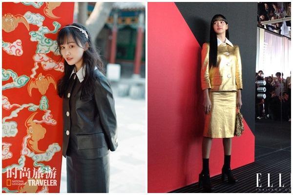 Trịnh Sảng không có cửa khi đụng hàng Yoona, Lisa BLACKPINK-2