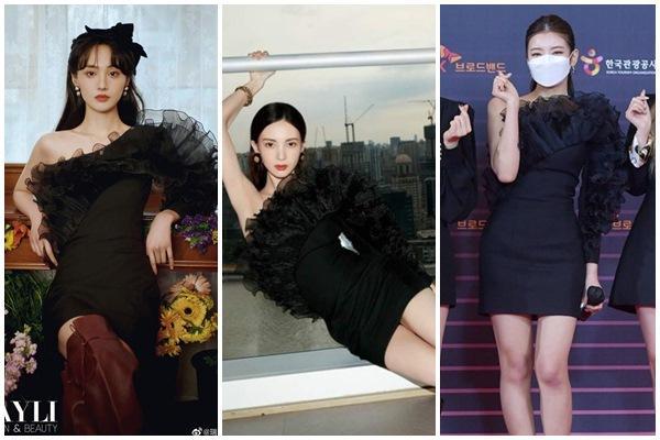 Trịnh Sảng không có cửa khi đụng hàng Yoona, Lisa BLACKPINK-7