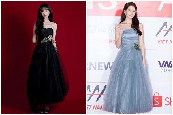 Trịnh Sảng không có cửa khi đụng hàng Yoona, Lisa BLACKPINK-4