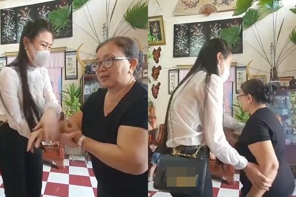 Vợ hai Vân Quang Long gọi mẹ chồng là 'BÁC', khóc nghẹn nói lời xin lỗi