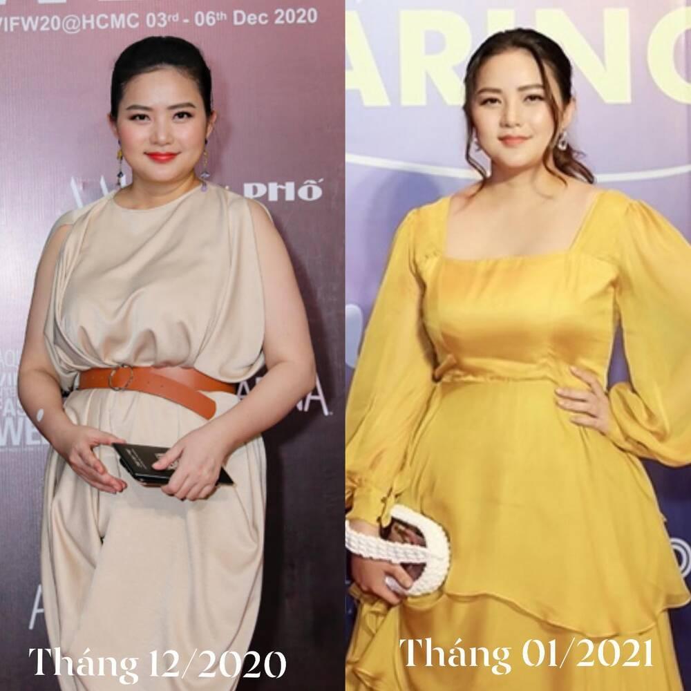 Phan Như Thảo không nhận ra mình sau 1 tháng ép mỡ, tự khen trẻ hơn hẳn-4
