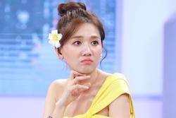 Hari Won 'đeo mo vào mặt' khi lên nhầm xế sang