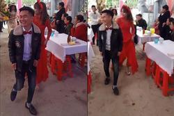 Xôn xao clip chú rể 15 tuổi lấy vợ ở Hà Tĩnh