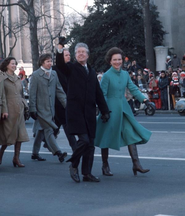 Các đệ nhất phu nhân Mỹ mặc gì tại lễ nhậm chức tổng thống?-5