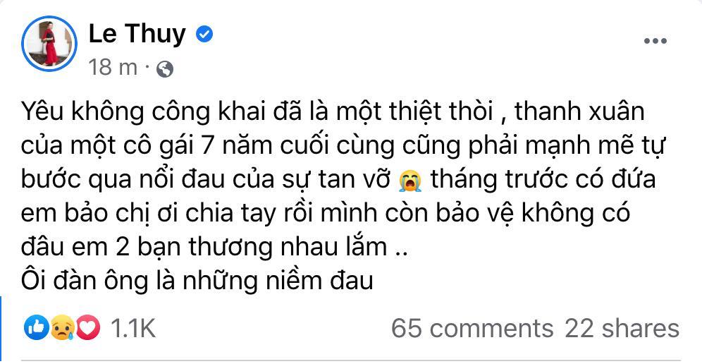 Sơn Tùng - Thiều Bảo Trâm bị nghi chia tay, dàn sao Việt xót xa nữ chính-2