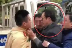 Tỉnh Tuyên Quang xử lý nghiêm chi cục trưởng túm áo CSGT