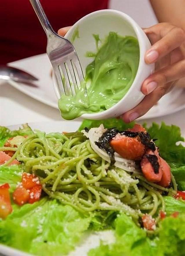 Trà xanh bỗng hot trở lại, ăn sập Hà Nội với những món ngon làm từ matcha-5