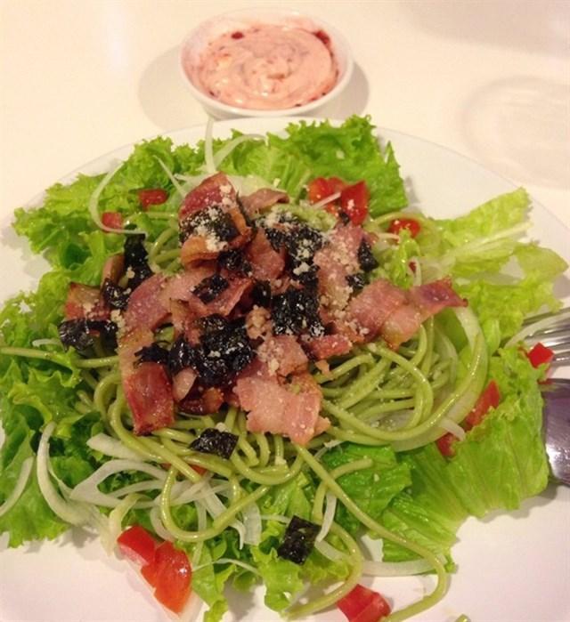 Trà xanh bỗng hot trở lại, ăn sập Hà Nội với những món ngon làm từ matcha-6